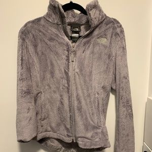 North Face Osito Grey/Silver Soft Jacket